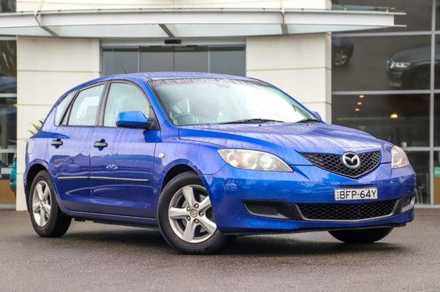 Used Mazda 3 BK10F2 Neo Sutherland, 2008 Mazda 3 BK10F2 Neo Blue 4 Speed Sports Automatic Hatchback