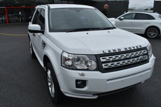 2011 Land Rover Freelander 2 LF MY11 Si6 SE White 6 Speed Sports Automatic Wagon.