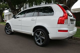 2013 Volvo XC90 P28 MY13 R-Design Geartronic White 6 Speed Sports Automatic Wagon.