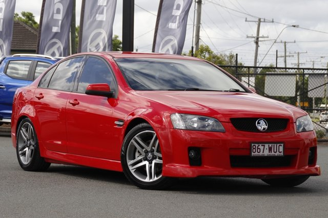 Used Holden Commodore VE MY09.5 SS Rocklea, 2009 Holden Commodore VE MY09.5 SS Red Hot 6 Speed Sports Automatic Sedan