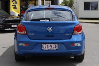 2015 Holden Cruze JH Series II MY15 Equipe Perfect Blue 6 Speed Sports Automatic Hatchback