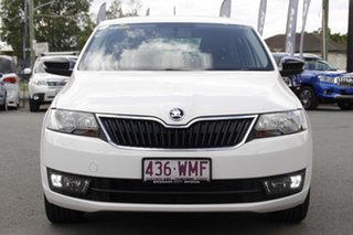 2016 Skoda Rapid NH MY16 Spaceback Candy White 6 Speed Manual Hatchback