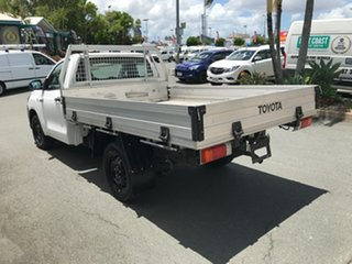 2016 Toyota Hilux TGN121R Workmate 4x2 Glacier 5 speed Manual Cab Chassis