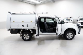 2014 Holden Colorado RG MY14 LX Space Cab White 6 Speed Sports Automatic Cab Chassis