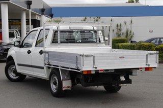 2010 Isuzu D-MAX MY09 SX 4x2 White 5 Speed Manual Utility.