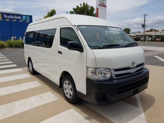 2012 Toyota HiAce KDH223R MY11 Upgrade Commuter French Vanilla 4 Speed Automatic Bus.