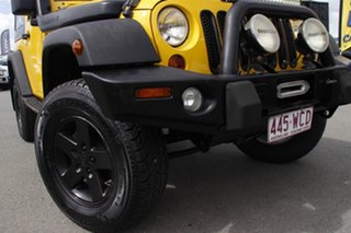 2009 Jeep Wrangler JK MY2009 Sport Solar Yellow/ 6 Speed Manual Softtop.