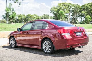 2010 Subaru Liberty B5 MY10 2.5i Lineartronic AWD Premium Red 6 Speed Constant Variable Sedan
