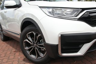2020 Honda CR-V RW MY21 VTi 4WD L AWD Platinum White 1 Speed Constant Variable Wagon.