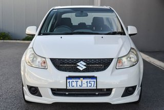 2008 Suzuki SX4 GYC GLX White 4 Speed Automatic Sedan