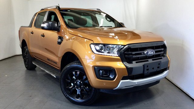 Used Ford Ranger PX MkIII 2019.75MY Wildtrak Elizabeth, 2019 Ford Ranger PX MkIII 2019.75MY Wildtrak Orange 6 Speed Sports Automatic Double Cab Pick Up