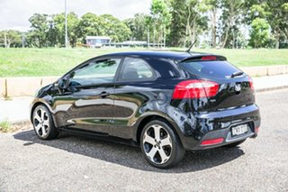 2012 Kia Rio UB MY13 SLS Black 6 Speed Sports Automatic Hatchback