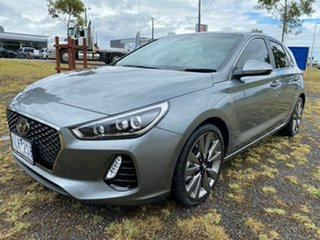 2017 Hyundai i30 PD MY18 SR D-CT Premium Sparkling Metal 7 Speed Sports Automatic Dual Clutch
