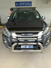 2018 Isuzu D-MAX MY18 LS-U Crew Cab Obsidian Grey 6 Speed Sports Automatic Utility.