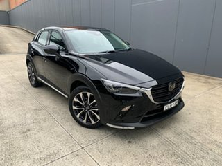 2020 Mazda CX-3 DK2W7A Akari SKYACTIV-Drive FWD Jet Black 6 Speed Sports Automatic Wagon.