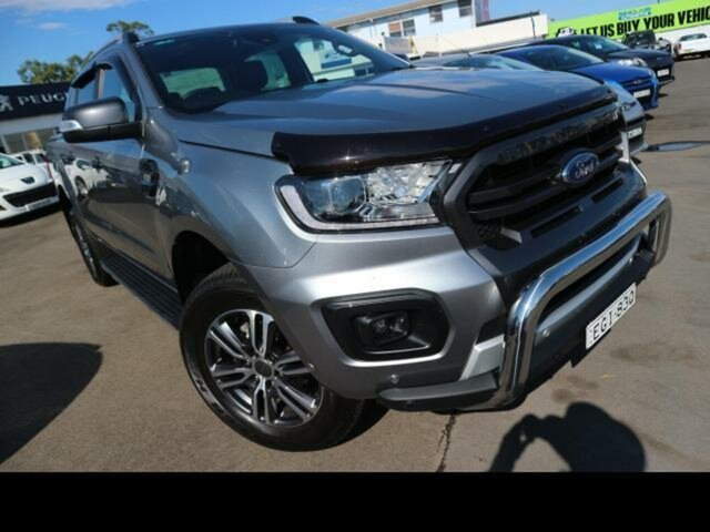 Used Ford Ranger Kingswood, Ford 2020.75 DOUBLE PU WILDTRAK . 3.2L 6A 4X4