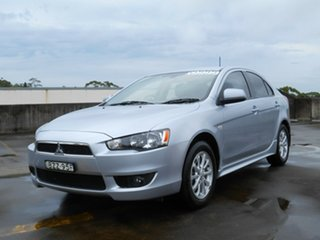 2010 Mitsubishi Lancer CJ MY10 VR Sportback Silver 5 Speed Manual Hatchback