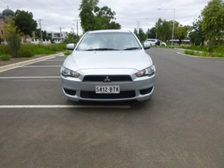 2011 Mitsubishi Lancer CJ SX Silver Manual Hatchback.