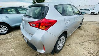 2013 Toyota Corolla ZRE182R Ascent S-CVT Silver 7 Speed Constant Variable Hatchback