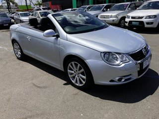 2007 Volkswagen EOS 1F 2.0T FSI Silver 6 Speed Direct Shift Convertible.