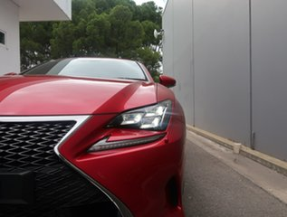 2018 Lexus RC GSC10R RC350 F Sport Red 8 Speed Sports Automatic Coupe