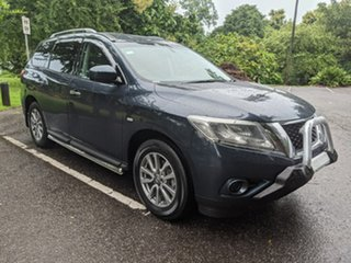 2016 Nissan Pathfinder R52 MY15 ST X-tronic 2WD Blue 1 Speed Constant Variable Wagon.