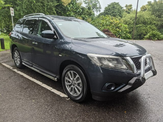 Used Nissan Pathfinder R52 MY15 ST X-tronic 2WD Stuart Park, 2016 Nissan Pathfinder R52 MY15 ST X-tronic 2WD Blue 1 Speed Constant Variable Wagon