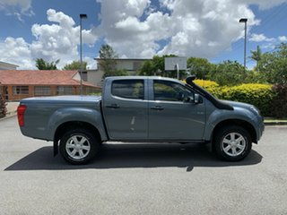 2012 Isuzu D-MAX LS-M Grey 5 Speed Manual Dual Cab.