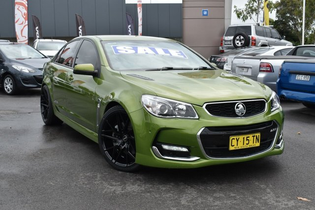 Used Holden Commodore VF II MY16 SS Tuggerah, 2015 Holden Commodore VF II MY16 SS Green 6 Speed Sports Automatic Sedan
