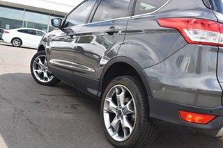 2015 Ford Kuga TF MY15 Titanium PwrShift AWD Grey 6 Speed Sports Automatic Dual Clutch Wagon