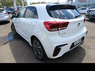 2020 Kia Rio YB MY20 GT-Line White 7 Speed Auto Dual Clutch Hatchback.