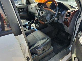 2005 Mitsubishi Pajero NP MY05 Exceed White 5 Speed Sports Automatic Wagon