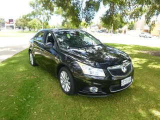 2013 Holden Cruze JH Series II CDX Black Sports Automatic Sedan.