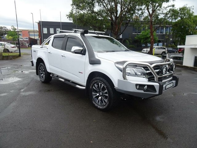 Used Holden Colorado RG MY18 LTZ Pickup Crew Cab Nowra, 2017 Holden Colorado RG MY18 LTZ Pickup Crew Cab White 6 Speed Sports Automatic Utility