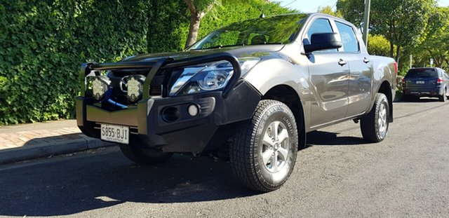 Used Mazda BT-50 MY16 XT Hi-Rider (4x2) Prospect, 2015 Mazda BT-50 MY16 XT Hi-Rider (4x2) Bronze 6 Speed Manual Dual Cab Chassis