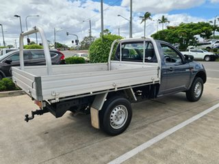 2008 Mitsubishi Triton ML MY08 GL 4x2 Grey 5 Speed Manual Cab Chassis.