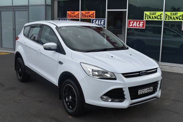 Used Ford Kuga TF MY15 Ambiente 2WD Gosford, 2015 Ford Kuga TF MY15 Ambiente 2WD White 6 Speed Manual Wagon