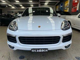 2016 Porsche Cayenne 92A Diesel Platinum Edition White Sports Automatic Wagon.
