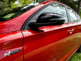 2020 Hyundai i30 PD.V4 MY21 N Line D-CT Lava Orange 7 Speed Sports Automatic Dual Clutch Hatchback