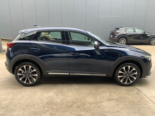 2020 Mazda CX-3 DK2W76 sTouring SKYACTIV-MT FWD Deep Crystal Blue 6 Speed Manual Wagon.