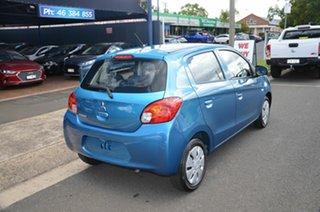 2014 Mitsubishi Mirage LA ES Blue 5 Speed Manual Hatchback.