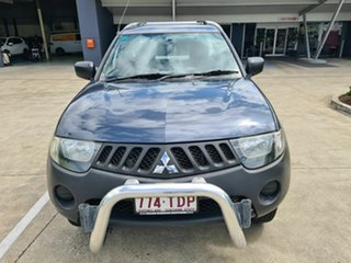 2008 Mitsubishi Triton ML MY08 GL 4x2 Grey 5 Speed Manual Cab Chassis