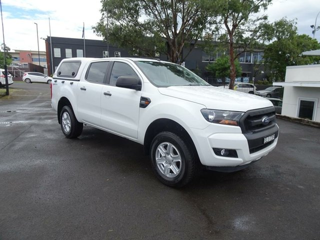 Used Ford Ranger PX MkII XL Hi-Rider Nowra, 2016 Ford Ranger PX MkII XL Hi-Rider White 6 Speed Sports Automatic Utility