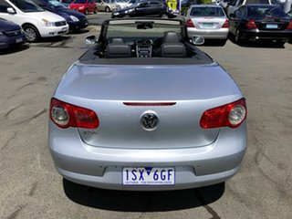2007 Volkswagen EOS 1F 2.0T FSI Silver 6 Speed Direct Shift Convertible