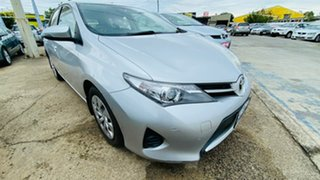 2013 Toyota Corolla ZRE182R Ascent S-CVT Silver 7 Speed Constant Variable Hatchback.