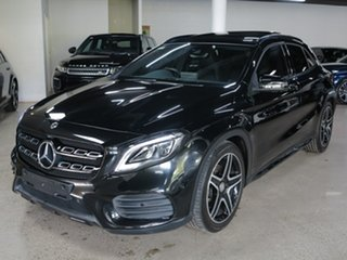 2018 Mercedes-Benz GLA-Class X156 808+058MY GLA220 d DCT Black 7 Speed Sports Automatic Dual Clutch.