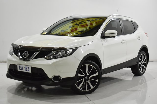 Used Nissan Qashqai J11 TL Brooklyn, 2017 Nissan Qashqai J11 TL White 1 Speed Constant Variable Wagon