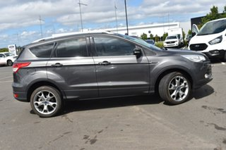 2015 Ford Kuga TF MY15 Titanium PwrShift AWD Grey 6 Speed Sports Automatic Dual Clutch Wagon