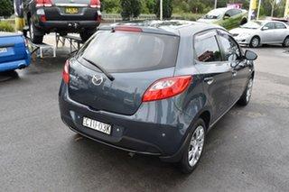 2012 Mazda 2 DE10Y2 MY13 Neo Grey 5 Speed Manual Hatchback.
