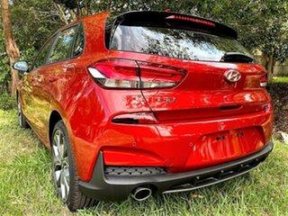 2020 Hyundai i30 PD.V4 MY21 N Line D-CT Lava Orange 7 Speed Sports Automatic Dual Clutch Hatchback.
